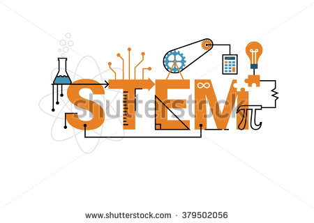 stock-vector-illustration-of-stem-education-word-typography-design-in-orange-theme-with-icon-ornament-elements-379502056
